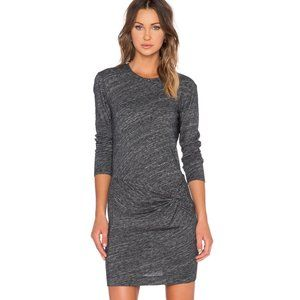 Revolve IRO Leticia Knot Front Wrap Mini Dress